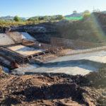 Concrete works at Suncentral Corso