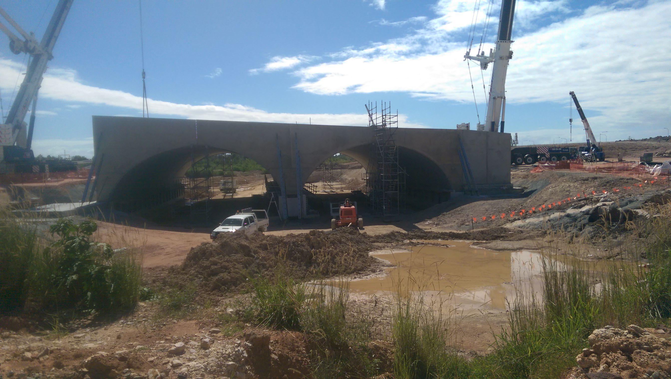 Capestone Boulevard civil infrastructure sub contracting services